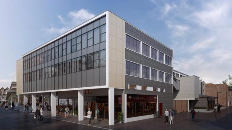 "Plans revealed to transform office block into flats and add ""vibrancy"" to Chesterfield"