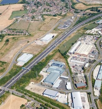 Work starts on two new units at Markham Vale