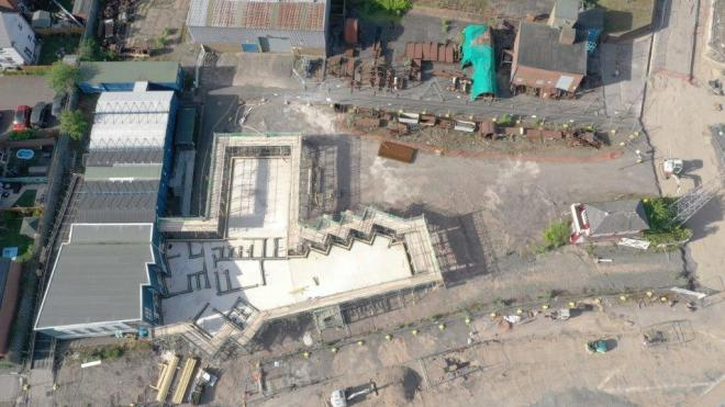 Snibston Colliery regeneration project on track