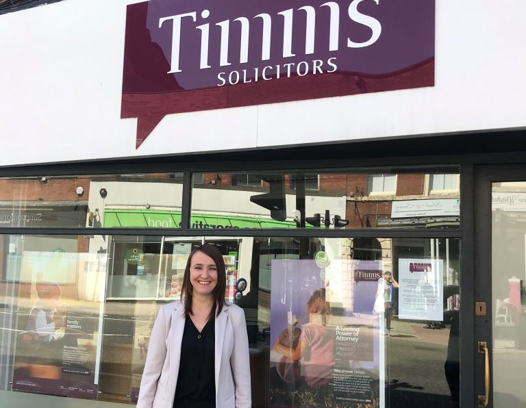 Timms Solicitors expands services with new hire