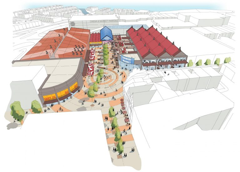 Vision for future of Lincolnshire town's centre revealed