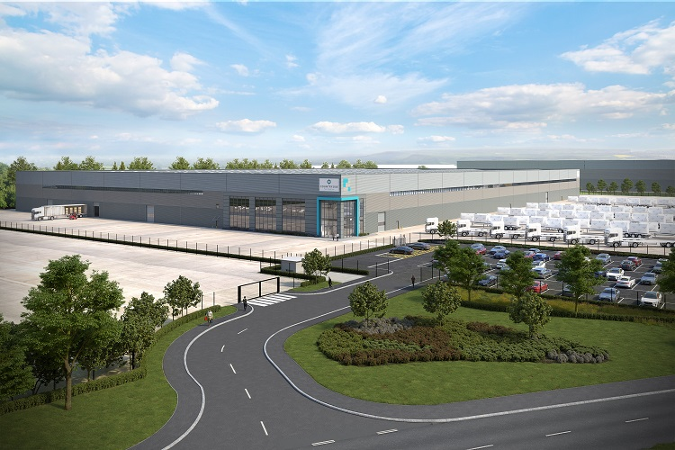 Countryside Properties lets 359,305 sq ft East Mids manufacturing facility