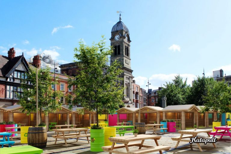 Derby Market Place to be transformed into venue for food and entertainment