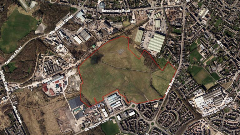 Go-ahead given for 300 homes and employment space on Derbyshire brownfield land