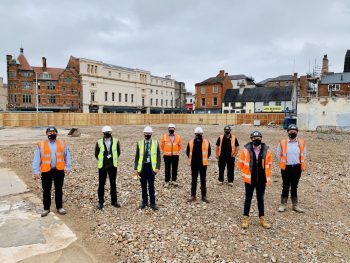 Project handover paves the way for £200m Becketwell regeneration scheme