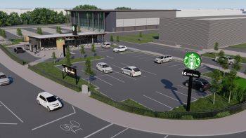 Starbucks drive-thru site sold