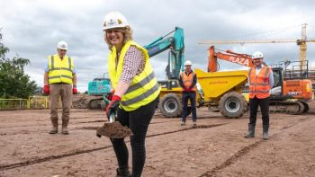 Work starts on new Leicestershire school