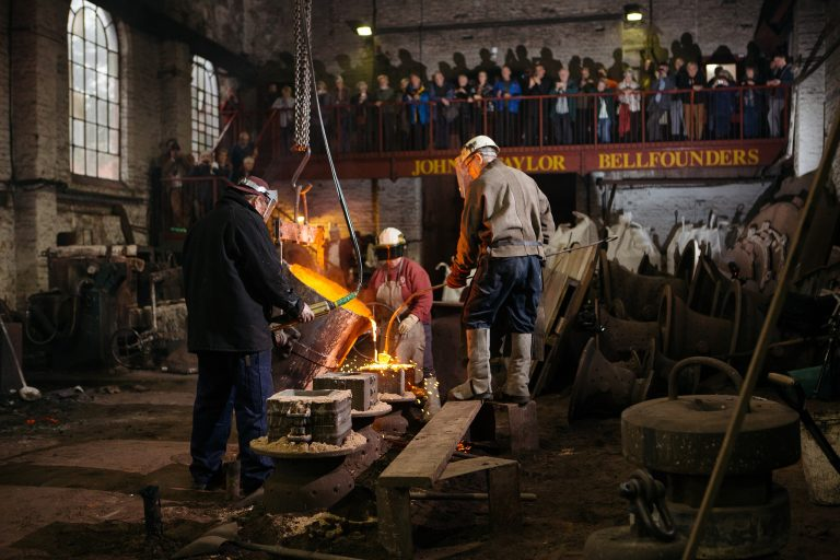 Loughborough Bellfoundry Trust receives grant from Government's Culture Recovery Fund