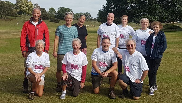 Derbyshire IT firm supports colleague taking part in charity trek