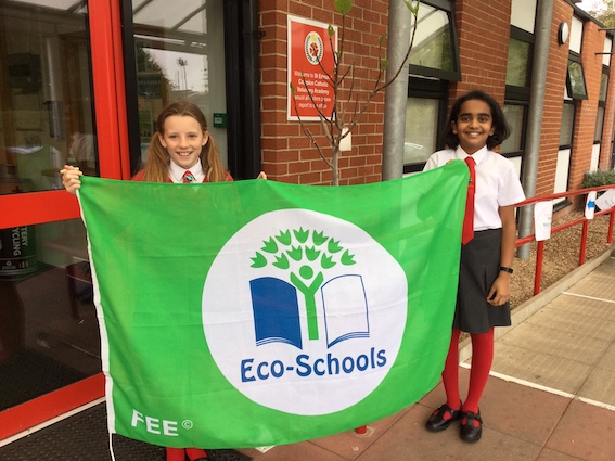 From growing their own to litter-picking – primary school goes green with coveted eco award