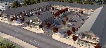 Construction starts on Glass Yard development in Chesterfield