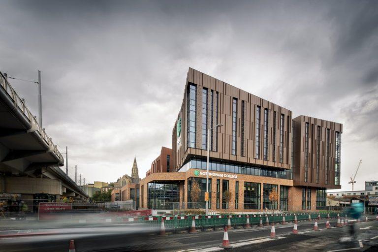 New £58.5m college campus completes in Nottingham