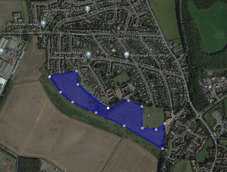 20 acre residential development site sold in Bilsthorpe