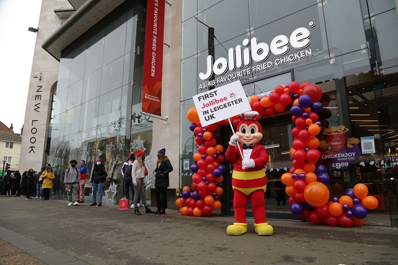 Largest fast-food chain in the Philippines creates 50 jobs in Leicester