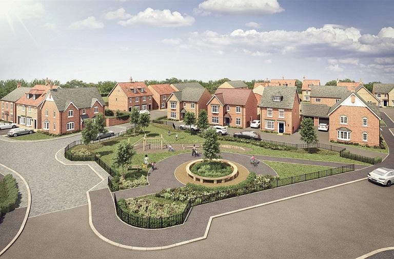 Work starts on 80-home development in Rushden