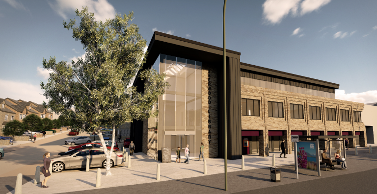 Plans for mixed-use scheme at Sherwood Library progress as contracts signed with developer