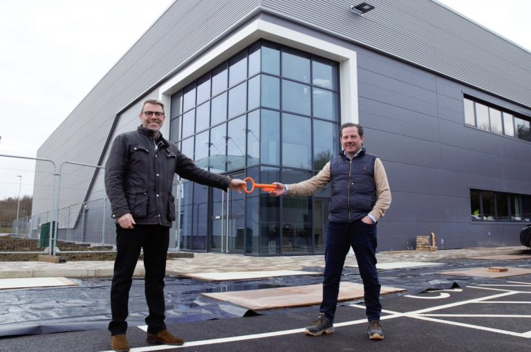 KW Special Projects handed keys to new Digital Manufacturing Centre premises