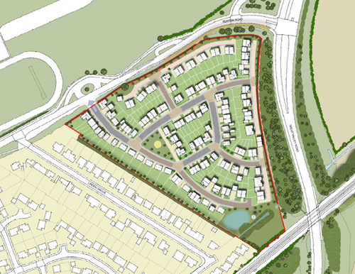 120 new homes set for Gedling as planning permission granted
