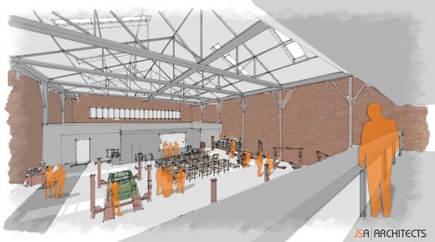 Plans for classic car visitor centre lodged for former Rolls-Royce factory