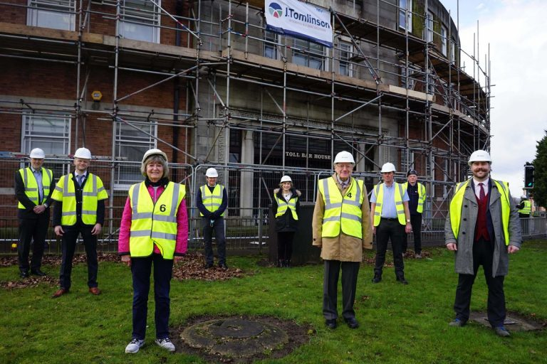 Work starts to redevelop Ilkeston's Toll Bar House into small business accommodation