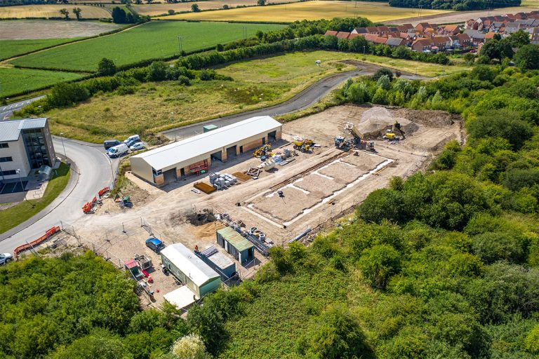 Construction starts on additional employment space at Lincolnshire business park