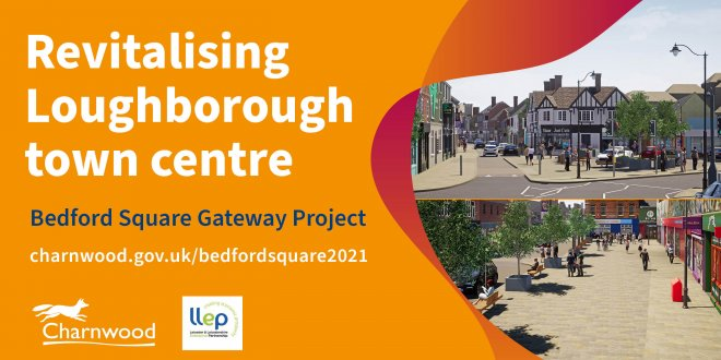 Scheme to revitalise Loughborough town centre gets underway