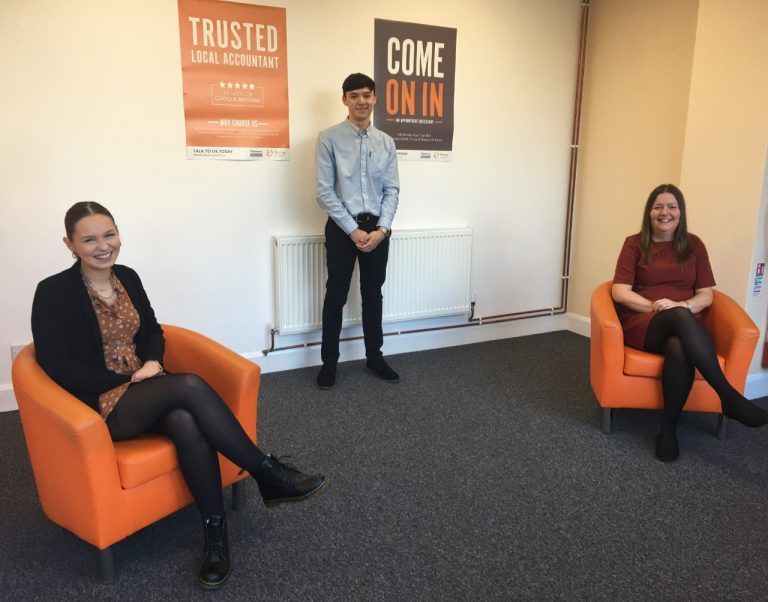 Sunny Accountants welcomes trio of new recruits