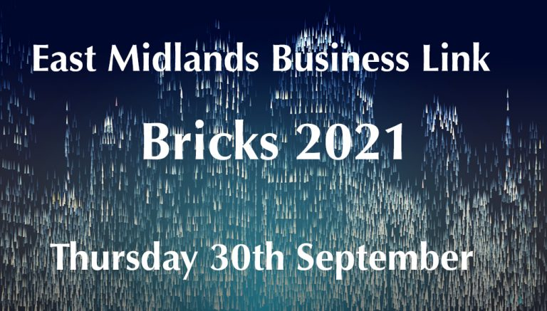 Pick up your tickets now to network at the East Midlands Bricks Awards 2021