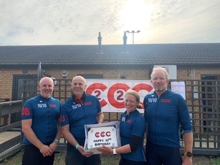 C2C2C Bike ride success for 2021